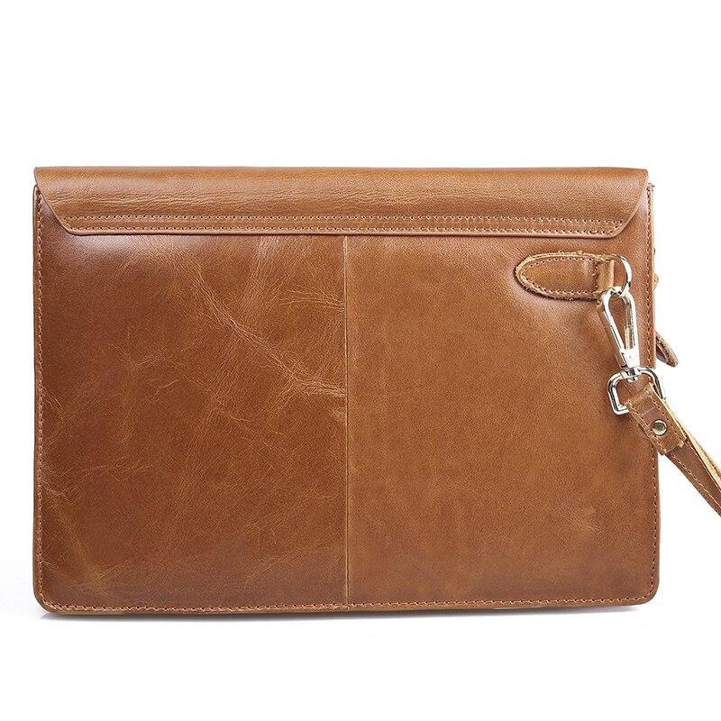 designer genuine leather bag men envelope clutch bag ipad cases