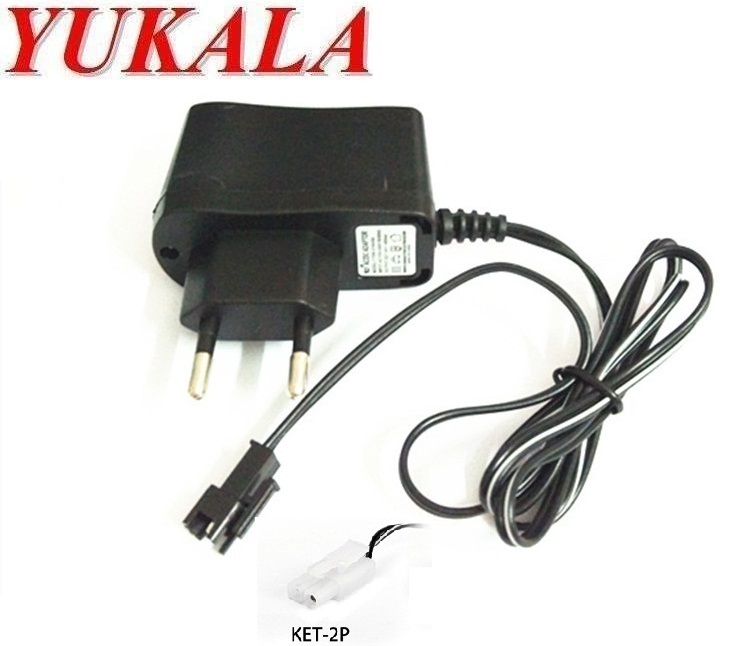 Wall 110V-240V AA AAA 9V Ni-Mh Ni-Cd Wall Charger EU Plug Rechargeable Battery