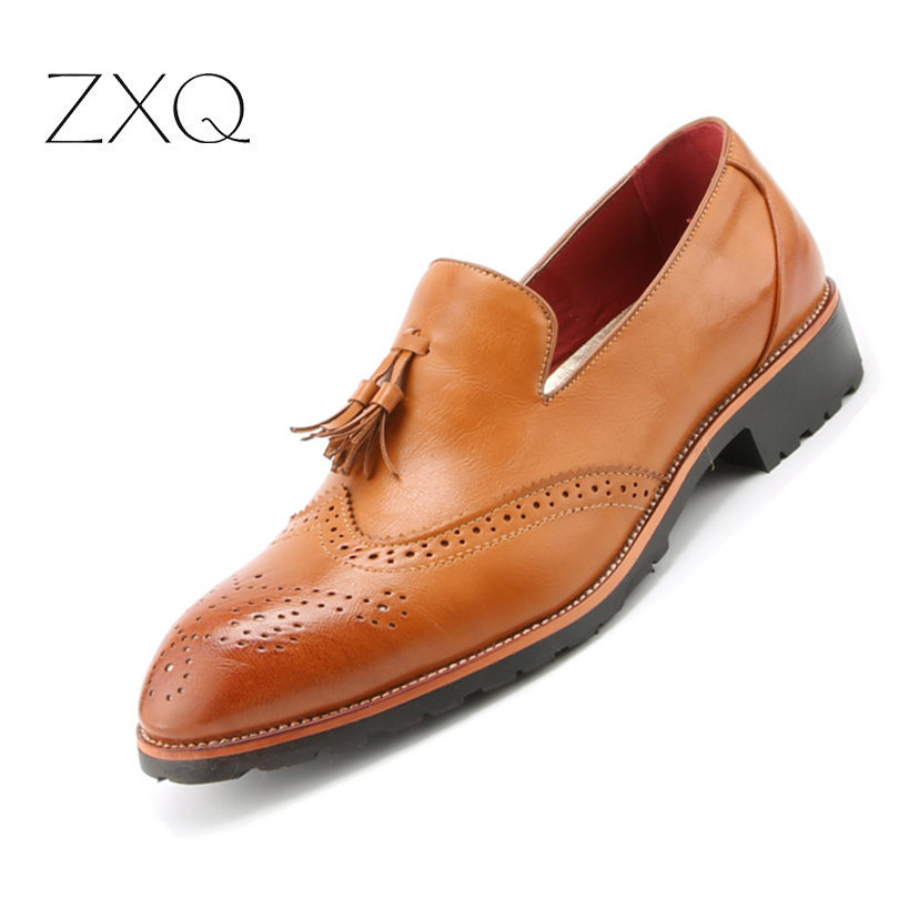 Fashion Men Brogues Loafers Shoes Stylish Moccasins Shoes Oxford Men Shoes Flats Slip On Vintage Tassel Leather ShoesFashion Men Brogues Loafers Shoes Stylish Moccasins Shoes Oxford Men Shoes Flats Slip On Vintage Tassel Leather Shoes