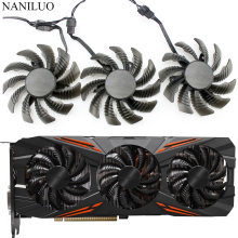 75 Mm T128010SU 0.35A Kipas Pendingin untuk Gigabyte AORUS GTX 1080 1070 Ti G1 Game Fan GTX 1070Ti G1 Game kartu Video Cooler Fan(China)
