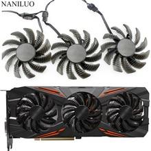 Cooling-Fan Video-Card 1080 Gtx 1070ti Aorus Gtx 75MM Gigabyte T128010SU for G1 Gaming