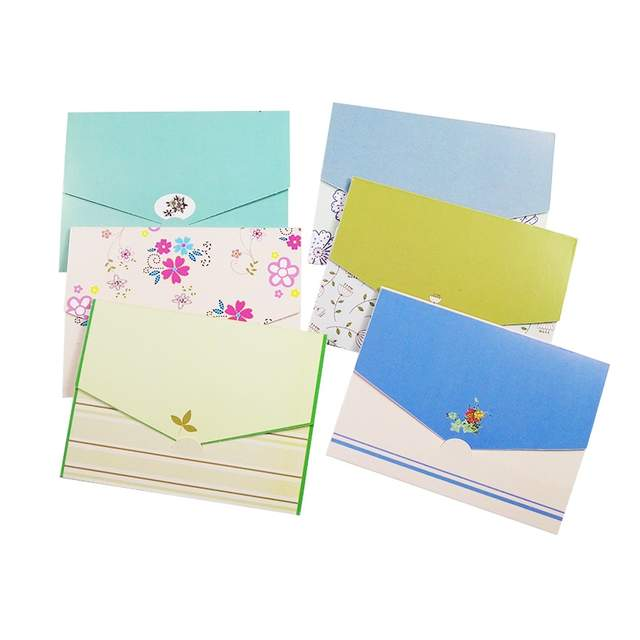 Detail Feedback Questions About 6 Pcs Lot Fresh Floral Folding Greeting Card Mini Envelope Design Writing Paper DIY Wedding Party Invitations Supply On