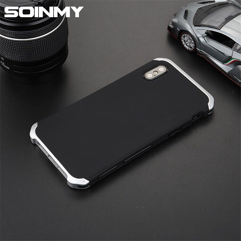 save off 41392 bd29c Element Metal Iphone Xs Max Case Shockproof Aluminum Frame Hard PC Back  Cover For Iphone X Xs Max Fundas
