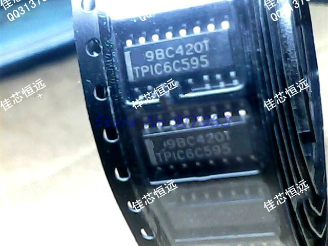 1pcs/lot TPIC6C595DR TPIC6C595 TPIC6C595D SOP-16 In Stock