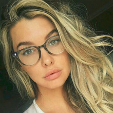 2018 Spectacle Classic Women Round Eyeglasses Frame Brand Designer Fashion Men Nail Decoration Optical Glasses Reading Glasses