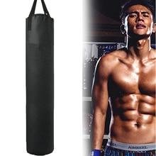 цена на Empty Kick Boxing Bag 100cm/115cm/162cm/178cm Training Fitness Punching Bag Saco De Pancada Boxeo Hook Hanging MMA Fight Sandbag