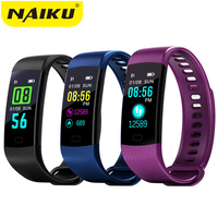Smart Band Watch Color Screen Wristband Heart Rate Activity Fitness Tracker Smartband Electronics Bracelet PK Xiaomi