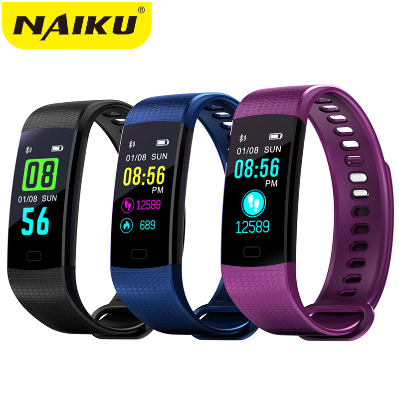 Smart Band Watch Color Screen Wristband Heart Rate Activity Fitness tracker Smartband Electronics Bracelet PK Xiaomi Miband 2