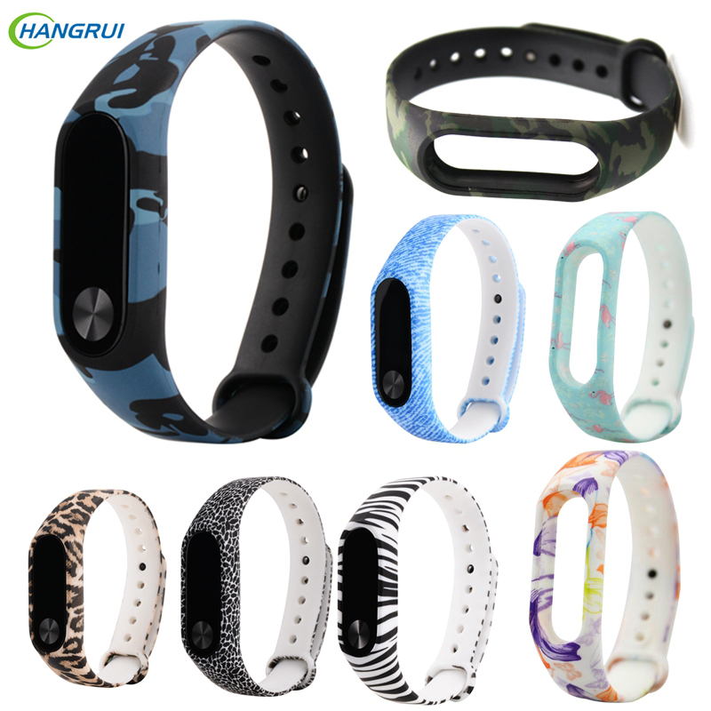 Wrist Strap For xiaomi mi Band 2 Silicone Bracelet replacement accessories For mi band 2 strap Colorful Wristband smart watch