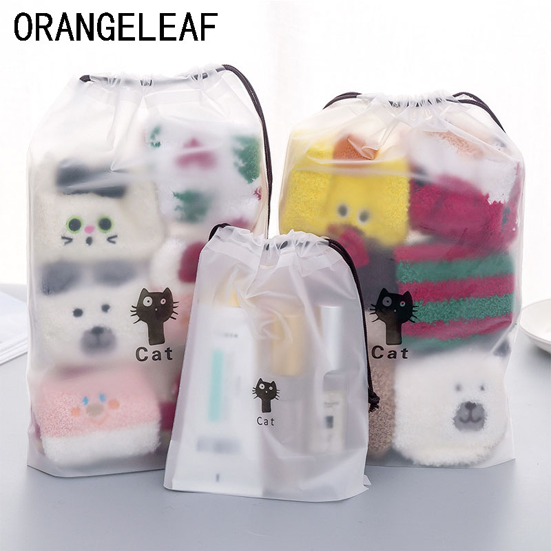 2019 Cat Organizers Travel Accessories Wash Toiletries Packing Bags Shoes Cosmetic Luggage Bag Wholesale