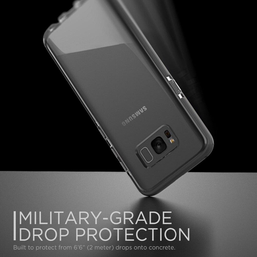 Fodral för Samsung Galaxy S8 / S8 Plus, helt skyddande tydlig Slim - Reservdelar och tillbehör för mobiltelefoner - Foto 3