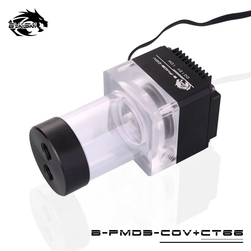 Bykski DDC Combo Pump + Reservoir Maximum Flow Lift 6 Meters 600L/H Compatible DDC Cover Radiator Water Tank Length 124mm