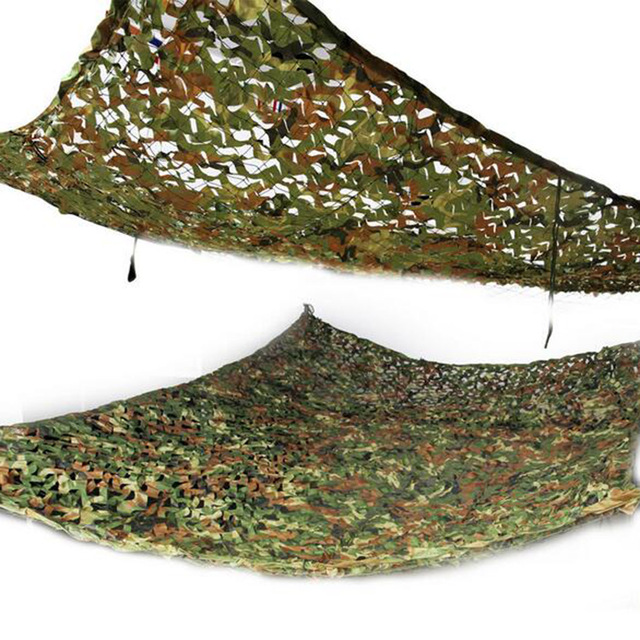 Army Camo Net Shelter for Outdoors and Survival