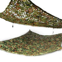 2x3m Woodland Camouflage Net Camo Netting Camping Beach Military Hunting Large Shelter Sun Shade Awning Tent