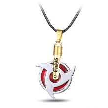 2017 Uchiha Itachi Sharingan Pendants Necklaces for Women Hot Anime Naruto Necklace Pendant 2017 Charm Fashion Men Jewelry