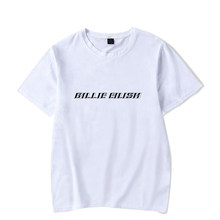 52f75a3855 Billie Eilish T Shirt Men Women Hip Pop Streetwear Casual Short Sleeve Cool Tshirt  Funny Graphic