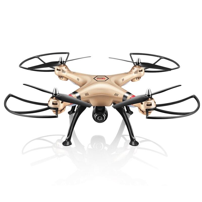 SYMA professionnel aéronef sans pilote (UAV) X8HG X8HW X8HC 2.4G 4CH RC hélicoptère Drones 1080 P 8MP HD caméra quadrirotor (SYMA X8C/X8W/X8G mise à niveau) - 4