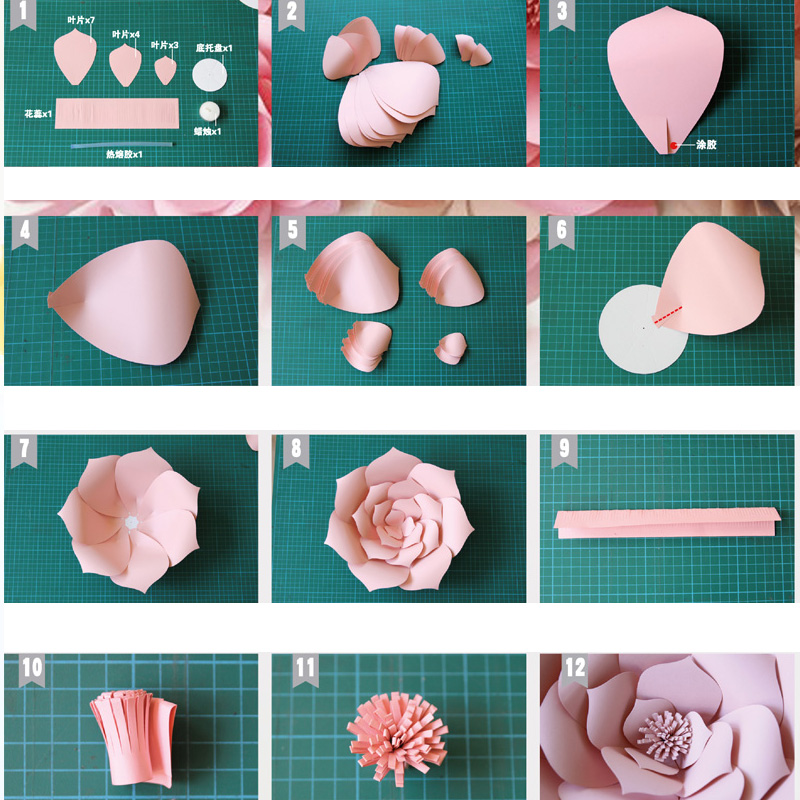 2017 new 2pcs diy paper flower backdrop 20cm kids birthday 2017 new 2pcs diy paper flower backdrop 20cm kids birthday valentines day wedding party baby shower wall hanging decoration in party diy decorations from mightylinksfo