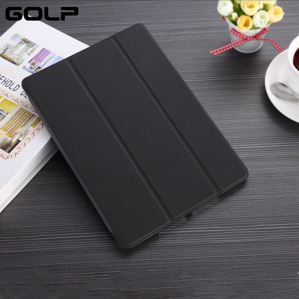 Case for iPad 9.7 Cover PC Smart Leather Protector for Apple iPad 2017 Case Stand, PC Back Cover for ipad 9.7 2017