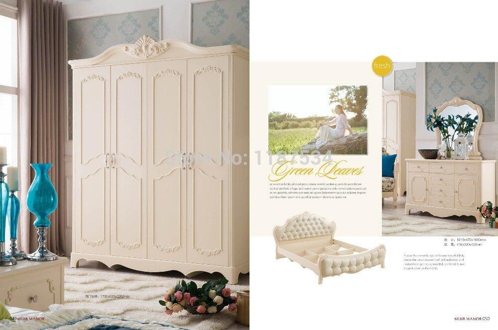 ᗖ8119 muebles modernos muebles de dormitorio de madera tocador ...