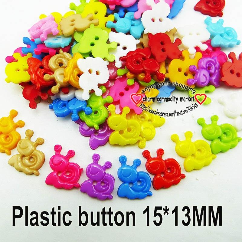 АКЦИЯ 100 шт смешанные формы много цветов Сделай Сам Скрапбукинг Мультяшные кнопки пластиковые кнопки детская одежда швейные принадлежности P-001