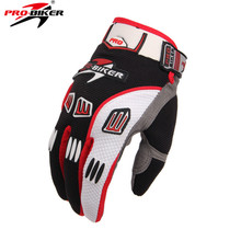 Pro-biker Motorcycle Cycling Dirt Protective Gear Racing Gloves Summer Full Finger Knight Riding Motorbike Motorcycle Gloves