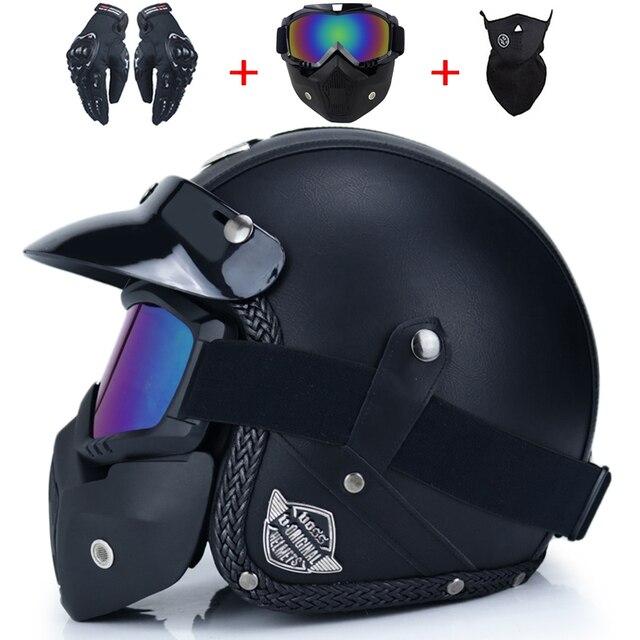 Retro Motorcycle Helmet 4