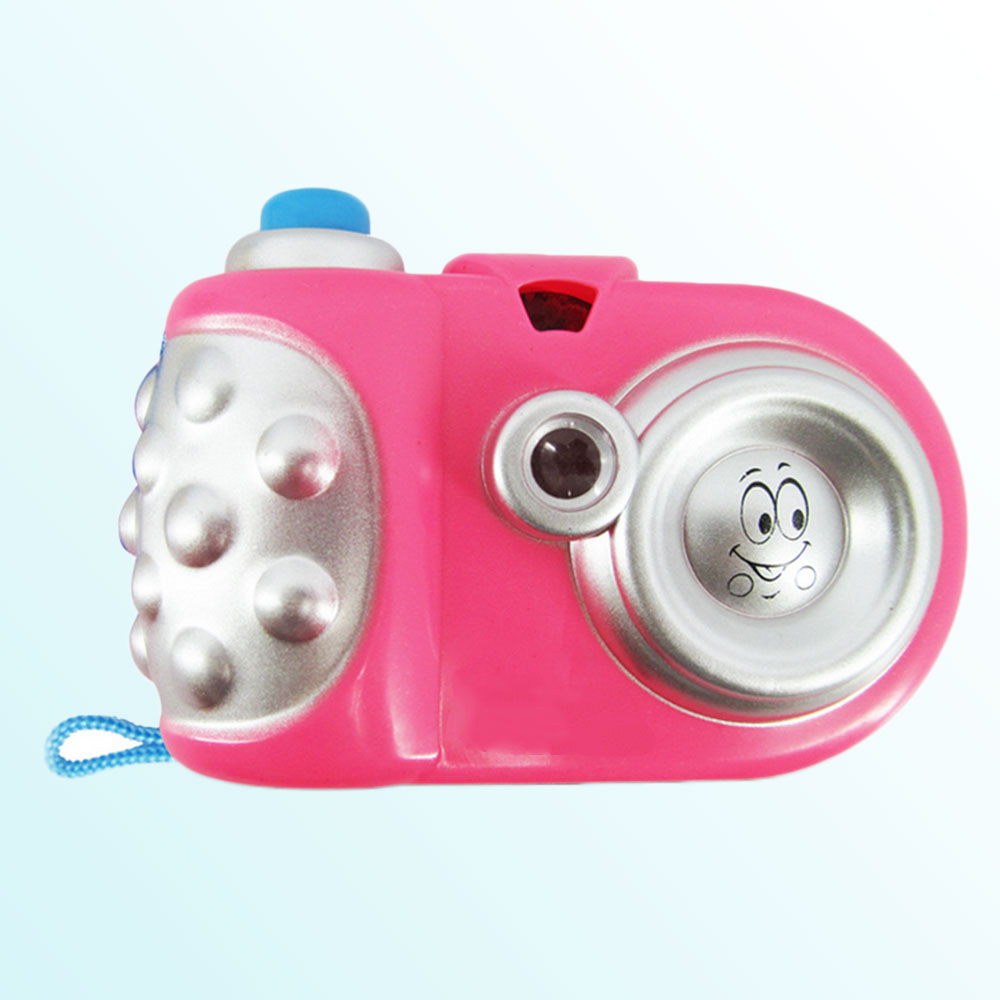 Cartoon Pattern Light Kids Baby Projection Camera Toy Children Learning Toys