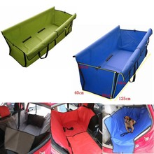 Car Seat Cover Safety Pet Waterproof Hammock Blanket Cover Mat Travel Dog Cat Seat Covers Automobiles Seat Covers