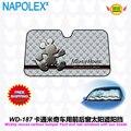 Accesorios de Dibujos Animados de Mickey mouse del coche ventana parasol frontal Láminas Cubierta UV Protegen la Película Del Coche Del Parabrisas Del Visera parasol WD-187