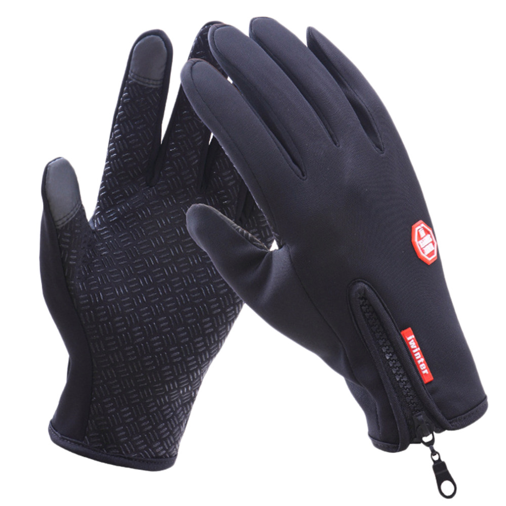Mens ski gloves xl - Women Men M L Xl Ski Gloves Snowboard Gloves Motorcycle Riding Winter Touch Screen Snow Waterproof Glove