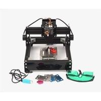 Assembled 10W 15W laser 15000MW diy 2014 metal laser engraving machine engraver marking machine for diy hobby