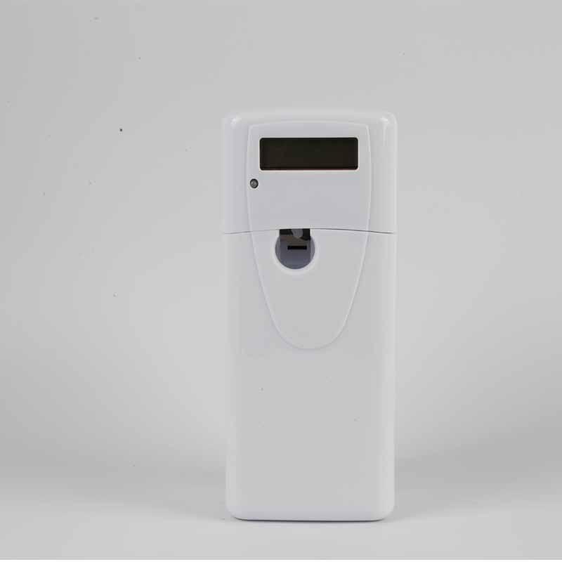 X-1132LCD Wall Mounted ABS Plastic Automatic Air Freshener Liquid Spray Dispenser Purifier Perfume  Bathroom Smell Remove
