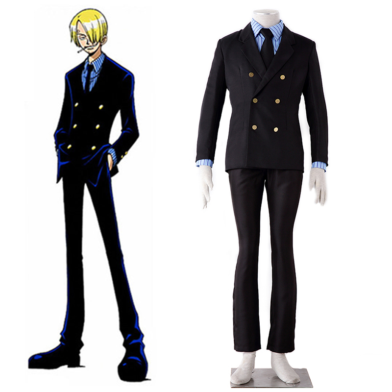 cosplay anzug f r anime sanji cosplay anzug setzt hohe. Black Bedroom Furniture Sets. Home Design Ideas