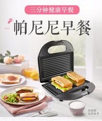 A Sandwich Machine Breakfast Machine, A Panini Machine, A Toaster, A Drivers House, Fried Eggs, Steak on Both Sides.