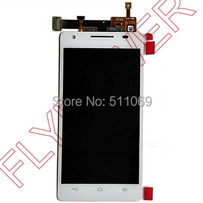 For Huawei Ascend P2 LCD Screen Digitizer with Touch Screen Digitizer Assembly by free shipping; White color; HQ