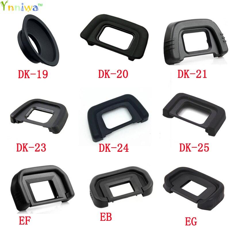 DK-19 DK-20 DK-21 DK-23 DK-24 DK-25 EF EB EG EC DK-5 Rubber Eye Cup Eyepiece Eyecup for nikon canon SLR Camera ef eye cup for canon 40d 50d 60d 5d 5d2 more black