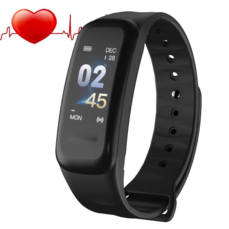 купить Sport Smart Watch Children Kids Watches Girls Boys Electronic LED Digital Wristwatch Child Clock Smartwatch Heart Rate Monitor по цене 1323.65 рублей