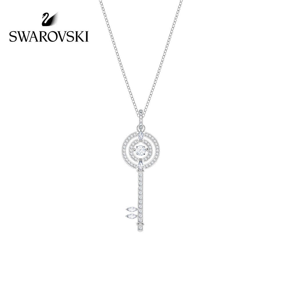 Original Genuine Swarovski Sparkling DC  Perfect for romantic keys and long necklaces womens Crystal Necklace5368263Original Genuine Swarovski Sparkling DC  Perfect for romantic keys and long necklaces womens Crystal Necklace5368263