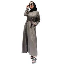 Arab Attire Elegant Abaya Muslim Women Embroidery and Diamond Long Dresses