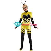Queen Bee Cosplay Costume Bodysuit Jumpsuit