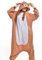 Cute Bear Doraemon Kigurumi Pajamas Animal Suits Cosplay Halloween Costume Adult Garment Cartoon Jumpsuits Animal Sleepwear