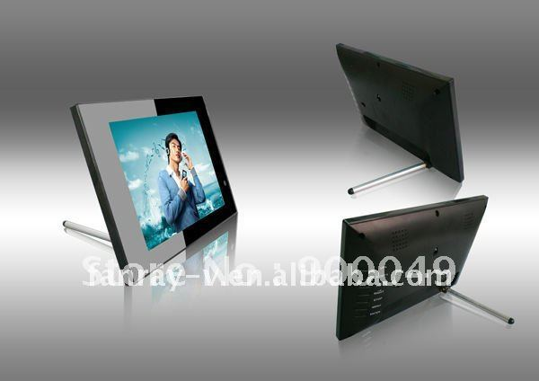 Hot 8 inch advertising display screen