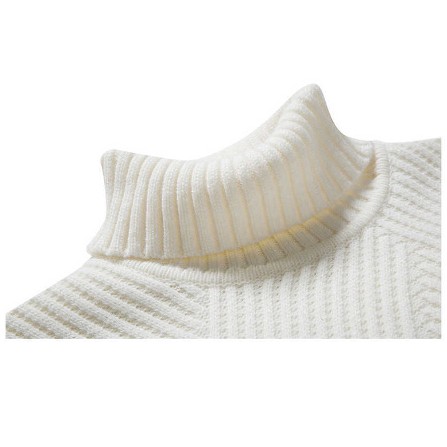 c8ac0a0ca ... White Black Turtleneck Sweater Men Pullovers Winter Thicken Cashmere  Mens Knitted Jumpers Male Turtle Neck Polo ...