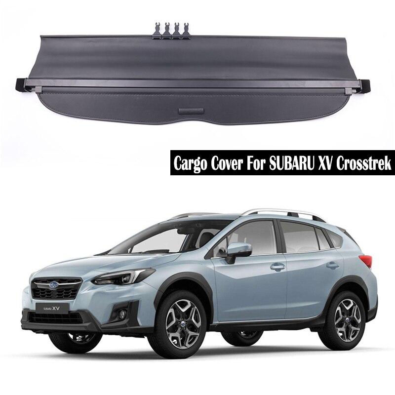 Motors Trunk Cover For 2017 2018 Subaru Impreza Xv Cargo Tonneau Shield Security Shade Car Truck Interior Cargo Nets Trays Liners