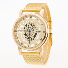JW Hollow Quartz Watch Women Luxury Brand Gold Ladies Casual Dress Stainless Steel band Clock Female Girls relogio feminino недорого