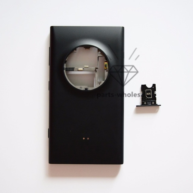 1PCS Back Battery Door for Nokia Lumia 1020 Back Cover Housing + SIM Card Tray