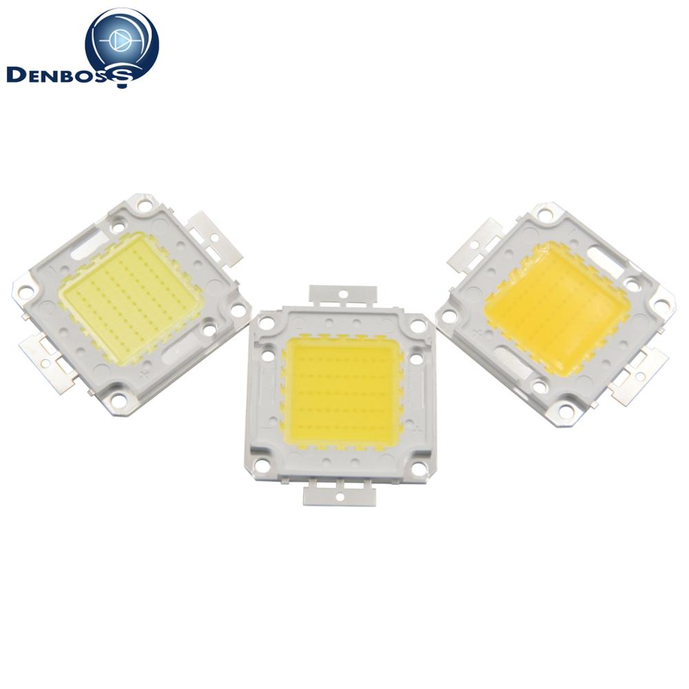 High Power 20W 30W 50W 100W Epistar Genesis Bridgelux High lumen LED COB Light Source Module cob led bulb lamp for flood light