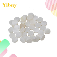 Yibuy Fingerboard Inlay Dot 6mm Guitar Dots White Pearl Shell