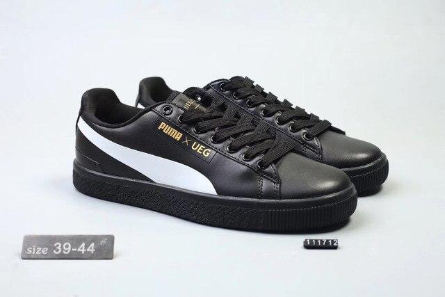 Free shipping 2018 Original BTS x Puma Collaboration Puma Court Star Korea  Cadet shoes men s Sneakers Badminton Shoes Size40-44 3b4de965b